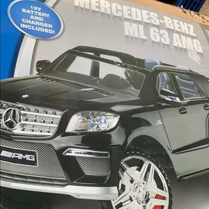 Mercedes Benz ML 63 AMG 12VOLT  KIDS RIDE ON CAR